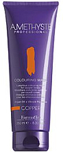 Fragrances, Perfumes, Cosmetics Tinting Hair Mask for Silver Shades - FarmaVita Amethyste Colouring Mask Copper