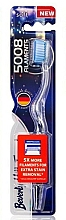 Fragrances, Perfumes, Cosmetics Soft Toothbrush, blue - Beverly Hills Formula 5008 Filament Multi-Colour Toothbrush