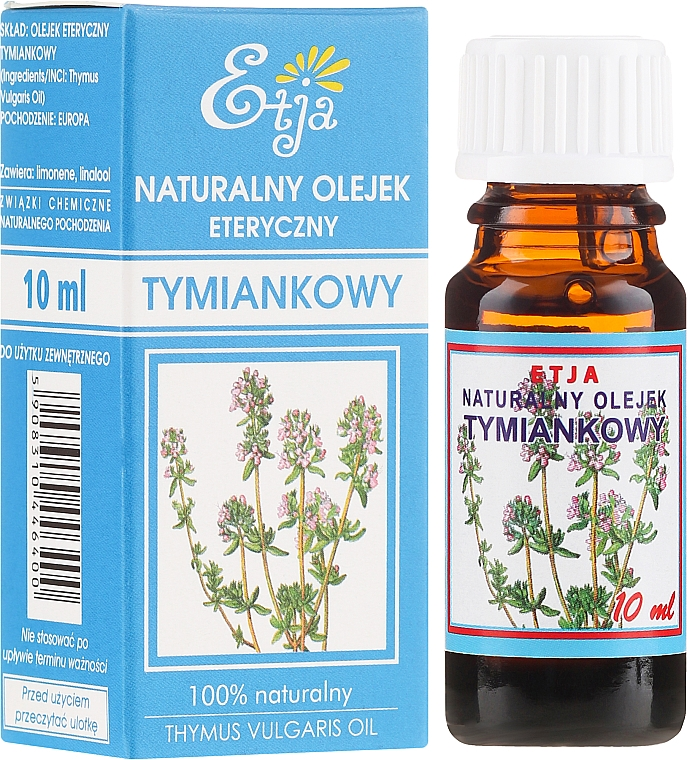 Natural Thyme Essential Oil - Etja Natural Essential Oil