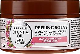 Fragrances, Perfumes, Cosmetics Salt Scrub with Organic Fig Oil - GlySkinCare Opuntia Oil Salt Scrub