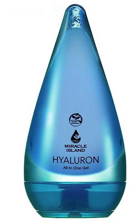 Hyaluronic Acid Face and Body Gel - Miracle Island