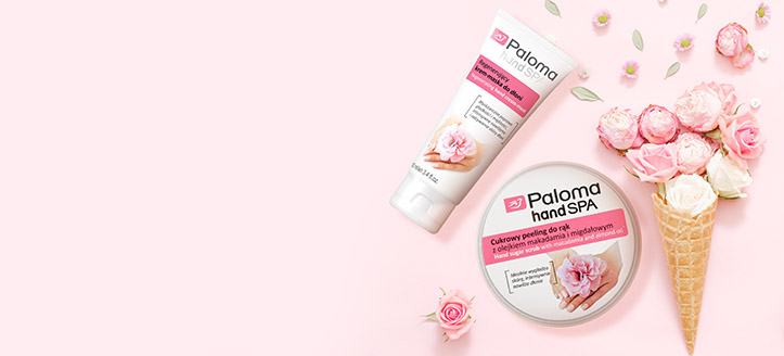 Buy Paloma products for the amount of £4 or more and get a free sugar hand scrub