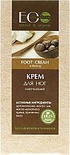 "Fragrances, Perfumes, Cosmetics Foot Cream ""Softening"" - ECO Laboratorie Food Cream"