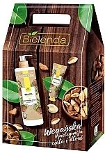 Fragrances, Perfumes, Cosmetics Set - Bielenda Brazil Nut (balm/400ml + h/cr/50ml)