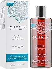 Fragrances, Perfumes, Cosmetics Balancing & Moisturizing Shampoo - Cutrin Bio+ Re-Balance Shampoo