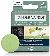 Fragrances, Perfumes, Cosmetics Car Air Freshener - Yankee Candle Car Powered Fragrance Refill Vanilla Lime (refill)