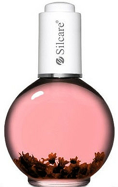 """Nail and Cuticle Oil with Flowers """"Flower Power"""" - Silcare Cuticle Oil Flower Power"""
