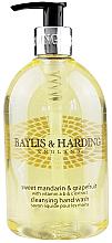 Fragrances, Perfumes, Cosmetics Hand Liquid Soap - Baylis & Harding Sweet Mandarin & Grapefruit Hand Wash