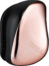 Fragrances, Perfumes, Cosmetics Compact Hair Brush - Tangle Teezer Compact Styler Rose Gold