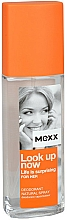 Fragrances, Perfumes, Cosmetics Mexx Look Up Now for Her - Deodorant
