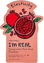 Fragrances, Perfumes, Cosmetics Facial Sheet Mask - Tony Moly I'm Real Pomegranate Mask Sheet