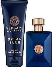 Fragrances, Perfumes, Cosmetics Versace Pour Homme Dylan Blue - Set (edt/100ml + sh/gel/100ml)