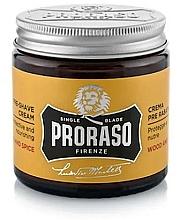 Fragrances, Perfumes, Cosmetics Pre-Shaving Cream - Proraso Wood and Spice Pre-Shaving Cream