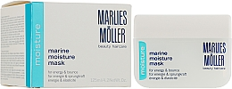 Fragrances, Perfumes, Cosmetics Moisturizing Mask - Marlies Moller Marine Moisture Mask