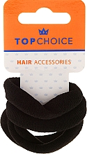 Fragrances, Perfumes, Cosmetics Elastic Hair Bands, black, 4 pcs - Top Choice