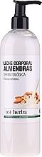 Fragrances, Perfumes, Cosmetics Body Milk - Tot Herba Almond Body Milk