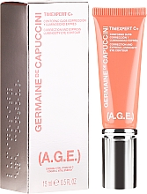 Fragrances, Perfumes, Cosmetics Correction and Brightening Eye Cream - Germaine de Capuccini Timexpert C+(A.G.E.) Eye Contour Correction and Luninocitty Express