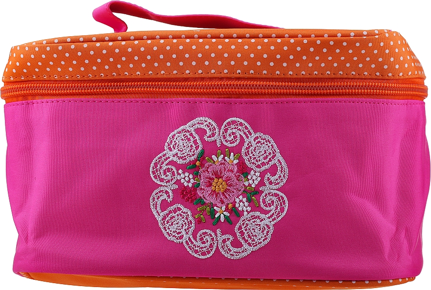 Makeup Bag 98154, pink-orange - Top Choice Mandala — photo N1