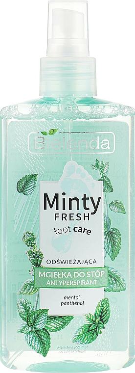 Foot Antiperspirant Spray - Bielenda Minty Fresh Foot Care Antiperspirant