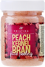 Fragrances, Perfumes, Cosmetics Peach Kernel Bran Face Peeling - Hristina Cosmetics Peach Kernel Bran Face Peeling
