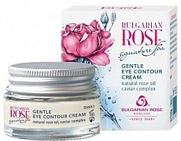Fragrances, Perfumes, Cosmetics Delicate Eye Cream - Bulgarian Rose Signature Spa Gentle Eye Contour Cream
