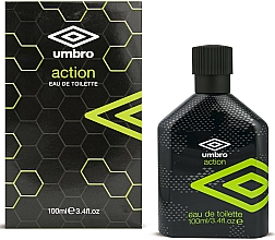 Fragrances, Perfumes, Cosmetics Umbro Action - Eau de Toilette