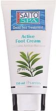 Fragrances, Perfumes, Cosmetics Foot Cream 'Green Tea' - Saito Spa Active Foot Cream Green Tea