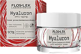 Fragrances, Perfumes, Cosmetics Anti-Wrinkle Day Cream - Floslek Hyaluron Anti-Wrinkle Cream