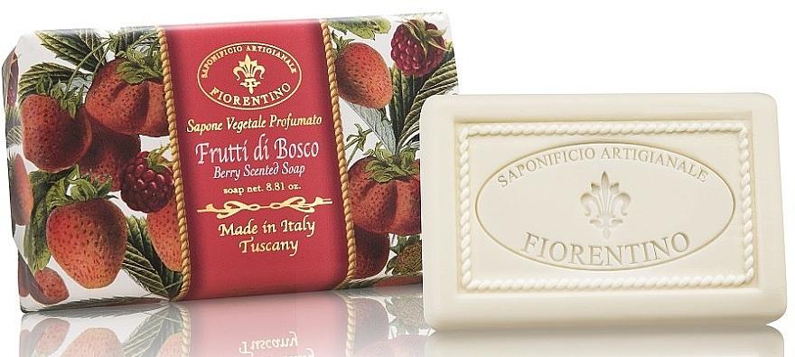Natural Berry Soap - Saponificio Artigianale Fiorentino Berry Scented Soap