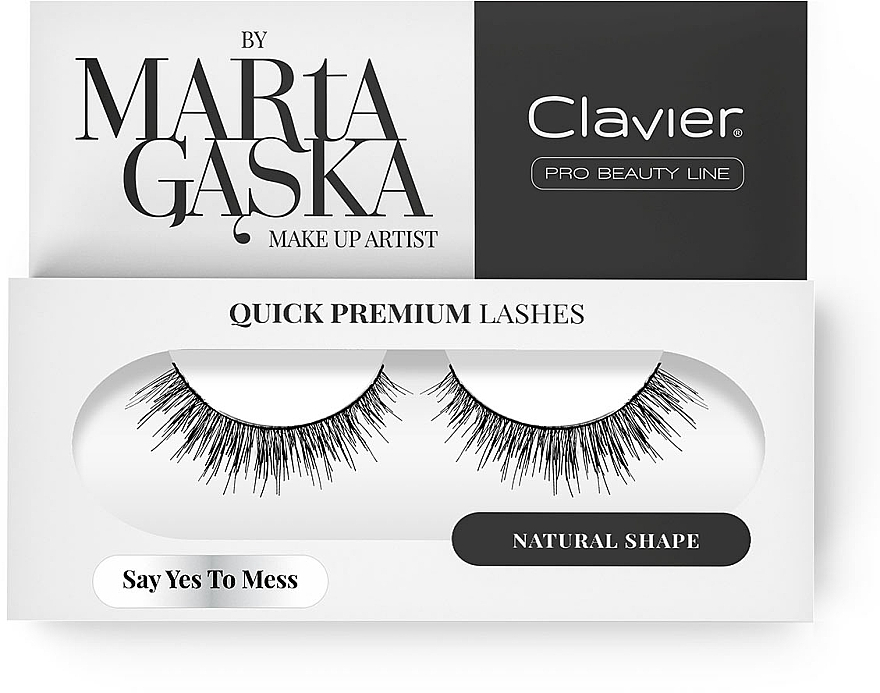 Flase Lashes - Clavier Quick Premium Lashes Say Yes To Mess SK09