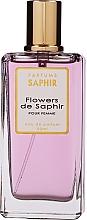 Fragrances, Perfumes, Cosmetics Saphir Parfums Flowers de Saphir - Eau de Parfum
