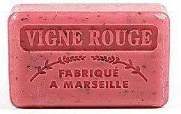 """Fragrances, Perfumes, Cosmetics Marseilles Soap """"Vine"""" - Foufour Savonnette Marseillaise Vigne Rouge"""