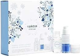 Fragrances, Perfumes, Cosmetics Set - Lumene Nordic Hydra (cr/15ml + oil/30ml + micell/water/50ml)