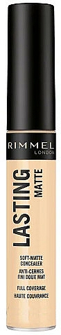 Matte Concealer - Rimmel London Lasting Matte Concealer