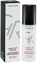Fragrances, Perfumes, Cosmetics Face Primer - Golden Rose Make-Up Primer Mattifying & Pore Minimising
