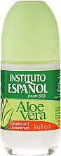 "Fragrances, Perfumes, Cosmetics Roll-On Deodorant ""Aloe Vera"" - Instituto Espanol Aloe Vera Roll-on Deodorant"