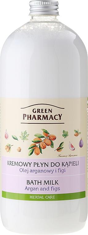 """Bath Milk """"Argan & Fig"""" - Green Pharmacy"""