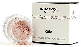 Fragrances, Perfumes, Cosmetics Natural Eyeshadow with Amber - Uoga Uoga Natural Eye Shadow With Amber