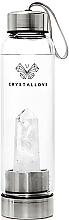 Fragrances, Perfumes, Cosmetics White Quartz Water Bottle, 500 ml - Crystallove