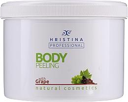 Fragrances, Perfumes, Cosmetics Grape Body Peeling - Hristina Professional 100% Natural Grape Body Peeling