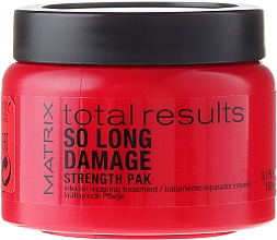 Fragrances, Perfumes, Cosmetics Intensive Hair Mask - Matrix Total Results So Long Damage Mask