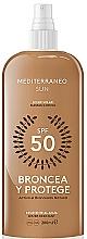Fragrances, Perfumes, Cosmetics Sun Lotion - Mediterraneo Sun Suntan Lotion SPF50