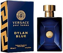 Fragrances, Perfumes, Cosmetics Versace Pour Homme Dylan Blue - Deodorant Spray