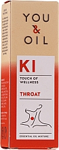 Fragrances, Perfumes, Cosmetics Essential Oil Blend - You & Oil KI-Throat Touch Of Welness Essential Oil