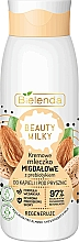 Fragrances, Perfumes, Cosmetics Shower and Bath Milk - Bielenda Beauty Milky Regenerating Almond Shower & Bath Milk