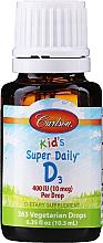 Fragrances, Perfumes, Cosmetics Vitamin D3 - Carlson Labs Kid's Super Daily D3