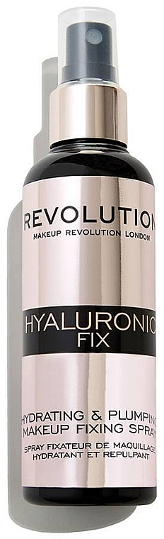Makeup Fixing Spray - Makeup Revolution Hyaluronic Fix Spray