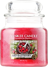 Fragrances, Perfumes, Cosmetics Candle in Glass Jar - Yankee Candle Red Raspberry