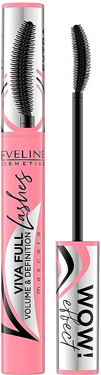 Lash Mascara - Eveline Cosmetics Viva Full Lashes Mascara Volume And Definition