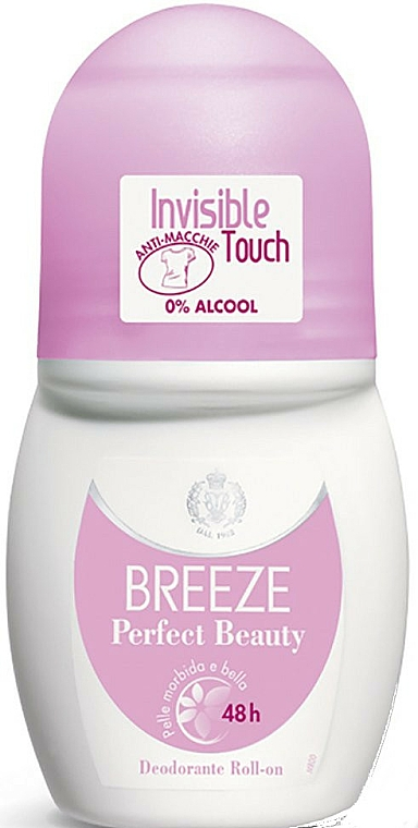 Roll-On Deodorant - Breeze Perfect Beauty Deo Roll-On 50 48h — photo N1